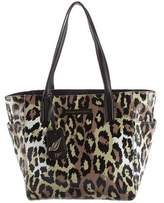 Diane von Furstenberg Printed Coated Canvas Tote