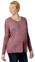 A Pea in the Pod Dolman Sleeve Burnout Maternity Tee