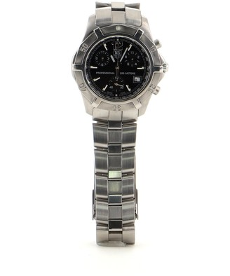 Tag Heuer 2000 Exclusive Chronograph Quartz Stainless Watch