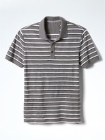Banana Republic Slub-Stripe Pique Polo