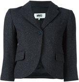 MM6 MAISON MARGIELA single breasted cropped jacket