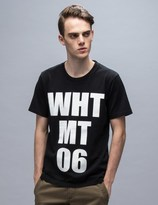 "White Mountaineering WHT MT 06"" Printed S/S T-Shirt"