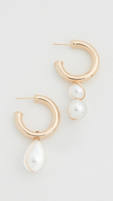 Beck Jewels Arcilla Alma Hoop