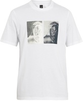 Oamc S.O.S. Tupac-print cotton-jersey T-shirt
