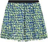 Proenza Schouler Silk printed mini skirt