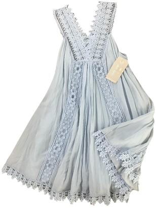 Charo Ruiz Ibiza Blue Cotton Dresses