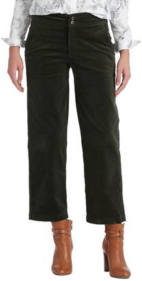 Chaps Women's Wide-Leg Corduroy Ankle Pants