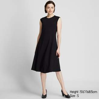 Uniqlo WOMEN Ponte Sleeveless Dress
