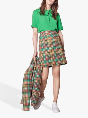 LK Bennett Bonnie Tweed Skirt, Multi