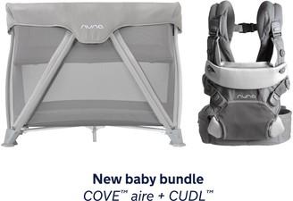 Nuna COVE Aire Travel Crib & CUDL Baby Carrier Set