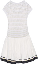 Missoni Crochet-knit and jacquard dress