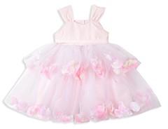 Pippa & Julie Tiered Petal Flower-Girl Dress- Baby