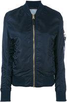 Alpha Industries arm pocket bomber jacket