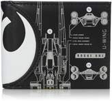 Bioworld Men's Star Wars Rogue One Death Star Bi-fold Wallet