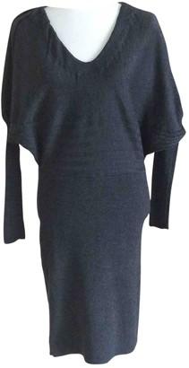Fendi Grey Wool Dresses