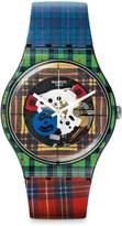 Swatch Men's Originals SUOB114 Black Silicone Swiss Quartz Watch