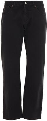 MM6 MAISON MARGIELA High-rise Straight-leg Jeans