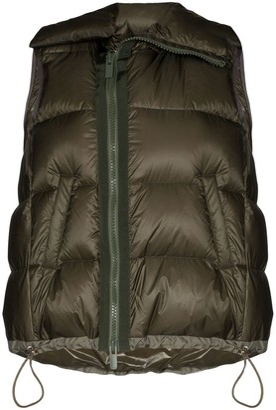 Sacai Sleeveless Puffer Jacket
