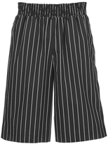 Opening Ceremony Pinstripe Boxing Shorts Black