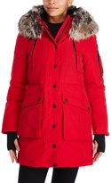 BCBGeneration Faux Fur Trim Hooded Parka