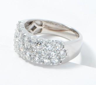 Fire Light Lab Grown Diamond 14K Gold Band Ring, 2.50cttw