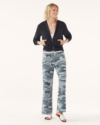 Splendid Super Soft Camo Wide Leg Pants
