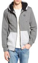 Volcom Men's Fleece Lined Zip Hoodie