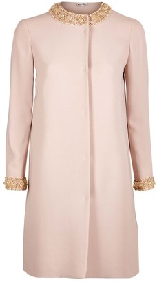 Miu Miu Pink Coat for Women
