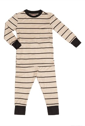 Baby Grey by Everly Grey Fitted Two-Piece Pajamas