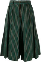 See by Chloe striped wide-leg shorts