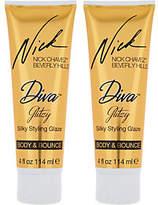 Nick Chavez Diva Glitzy Silky 4 oz. Styling Glaze Duo