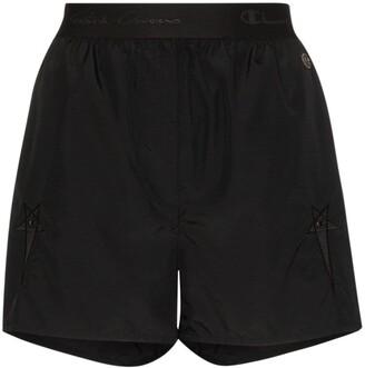Rick Owens X Champion x Champion high waist shorts