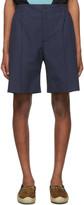 Gucci Navy Poplin Shorts