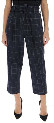 3.1 Phillip Lim Cropped Check Trousers
