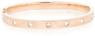 Anita Ko 18kt rose gold Oval diamond bracelet