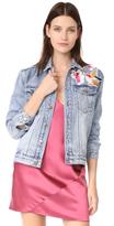 MinkPink Blossom Patch Jacket