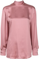 Valentino blouse with waterfall back