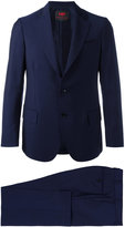 Mp Massimo Piombo - Single-breasted dinner suit - men - Mohair/Virgin Wool/Cotton/Viscose - 50