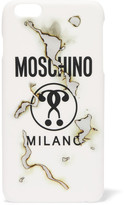 Moschino Printed Acrylic Iphone 6 Plus Case - White