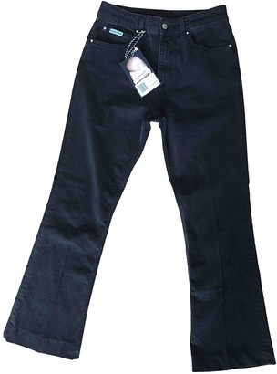 ALEXACHUNG Alexa Chung Black Cotton - elasthane Jeans for Women