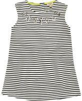 River Island Mini girls black stripe shift dress