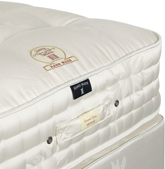 OKA Deluxe Double Mattress & Divan Bed - White