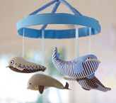 Pottery Barn Kids Whale Mobile