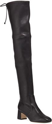 Stuart Weitzman Kirstie 60mm Napa Leather Over-The-Knee Boots