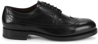 Canali Wingtip Leather Derbys
