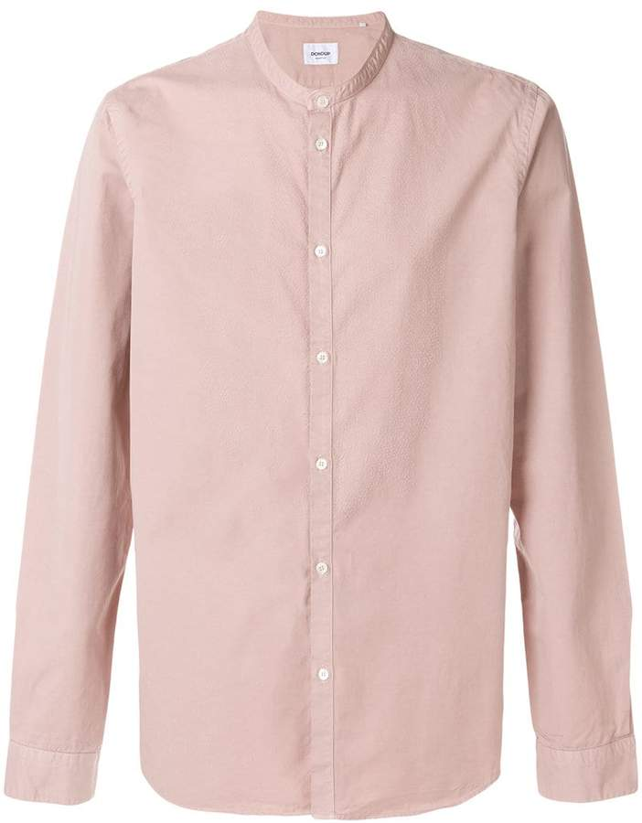 Dondup mandarin collar shirt