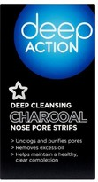 Superdrug Deep Action Cleansing Charcoal Nose Pore Strips