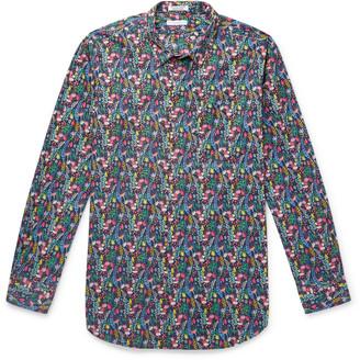 Engineered Garments Floral-Print Cotton Shirt