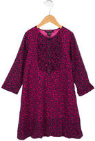 Little Marc Jacobs Girls' Printed Wool Dress