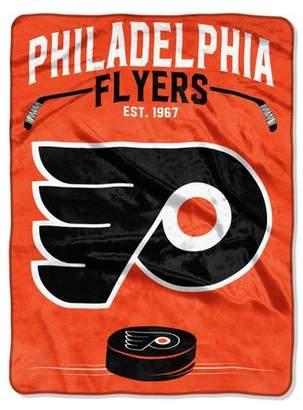 Northwest Company The NHL Philadelphia Flyers Inspired Raschel Throw